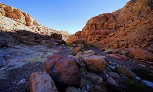 Zdjęcie IZRAEL / Eilat / Czerwony Kanion / Wielobarwny szlak niebieski