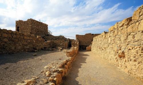 Zdjęcie IZRAEL / Morze Martwe / Masada / Trzymając się szlaku