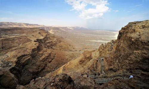 Zdjęcie IZRAEL / Morze Martwe / Masada / Zdobywanie twierdzy