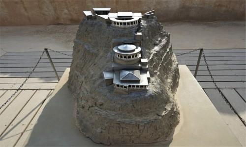 Zdjęcie IZRAEL / Morze Martwe / Masada / Twierdza Heroda, makieta