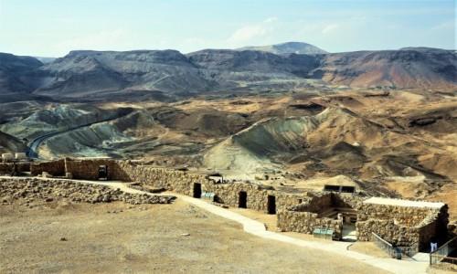 Zdjęcie IZRAEL / Morze Martwe / Masada / Za murami twierdzy