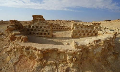 Zdjecie IZRAEL / Morze Martwe / Masada / Kolumbarium