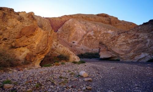 Zdjecie IZRAEL / Eilat / Czerwony Kanion / Skały