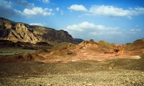IZRAEL / Eilat  / Timna Park / W dolinie skalnych grzybów