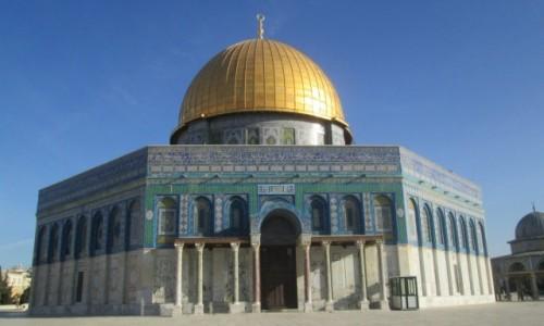 IZRAEL / stolica / Jerozolima / Kopuła na Skale