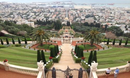 Zdjecie IZRAEL / Dystrykt Hajfa / Hajfa / Ogrody Bahaitów