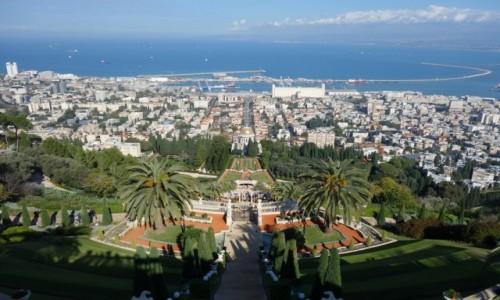 Zdjecie IZRAEL / Północny Izrael / Ogrody Bahaitów / Hajfa