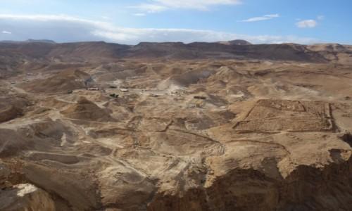 Zdjecie IZRAEL / Pustynia Judejska / Park Narodowy / Okolice Masady