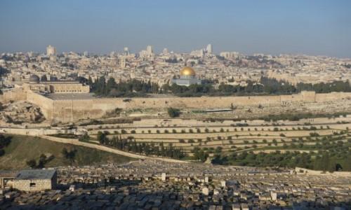 Zdjecie IZRAEL / Jerozolima / Jerozolima / Kopuła na skale.