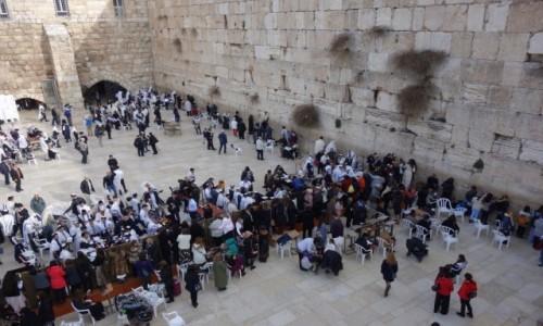 Zdjecie IZRAEL / Bliski Wschód / Jerozolima / Ściana płaczu