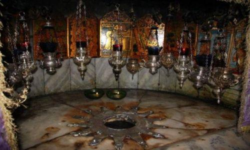 Zdjecie IZRAEL / brak / Betlejem Palestyna  / Gwiazda w Grocie  Narodzenia Chrystusa
