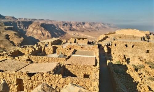 Zdjecie IZRAEL / izrael / ruiny / Masada