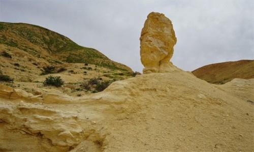 Zdjecie IZRAEL / Pustynia Negew / Park Narodowy Avdat / Rzeźba natury