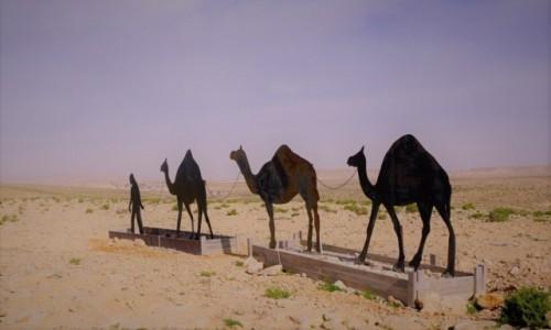 Zdjecie IZRAEL / Pustynia Negew / Park Narodowy Avdat / Niedokończone dzieło