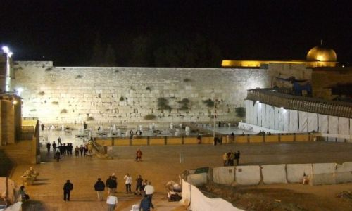 Zdjecie IZRAEL / Jerozolima / Jerozolima / Ściana Płaczu