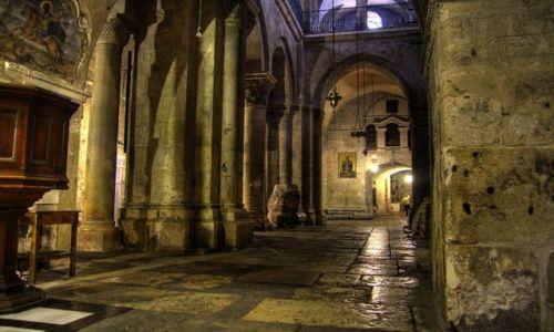 IZRAEL / Jerozolima / Stare Miasto / Bazylika Grobu