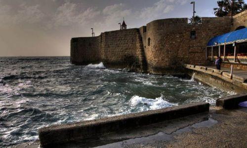 Zdjecie IZRAEL / Akka / Stary port / Mury Akki