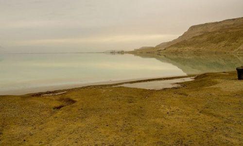 IZRAEL / Morze Martwe / Ein Bokek / Droga na Południe