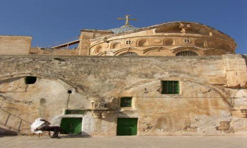 Zdjecie IZRAEL / Jerozolima / Stare Miasto / W miejscu X-tej Stacji Krzyżowej