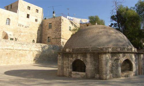 Zdjecie IZRAEL / Jerozolima / Stare Miasto / X-ta stacja Drogi Krzyżowej