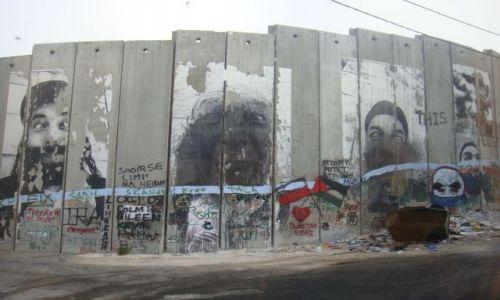 Zdjecie IZRAEL / Ziemia Święta / Betlejem / Mur okupacyjny