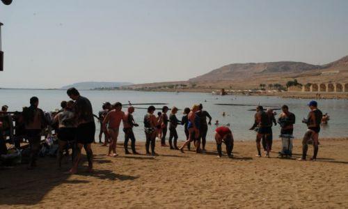 Zdjęcie IZRAEL / Morze Martwe / na plaży / SPA nad Morzem Martwym
