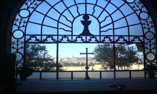 IZRAEL / Bliski Wschód / Jerozolima / Spojrzenie na Jerozolimę