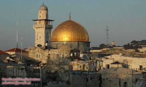 Zdjecie IZRAEL / Jerozolima / Jerozolima / Kopu�a ska�y