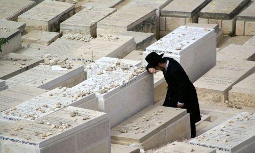 IZRAEL / Jerozolima / Góra Oliwna / Modlitwa