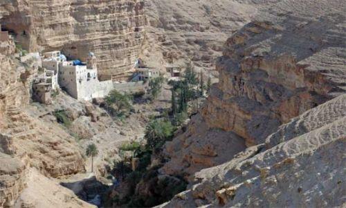 Zdjęcie IZRAEL / brak / Pustynia Judzka / Klasztor Św. Jana Koziby