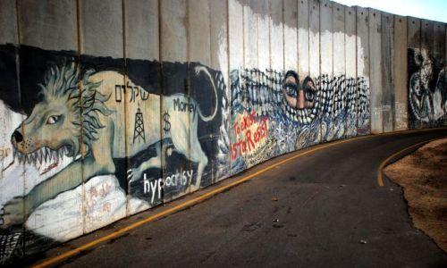 Zdjęcie IZRAEL / Betlejem / Betlejem / mur Palestyny