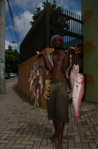 Zdjęcia: Ocho Rios, fish dealer, JAMAJKA