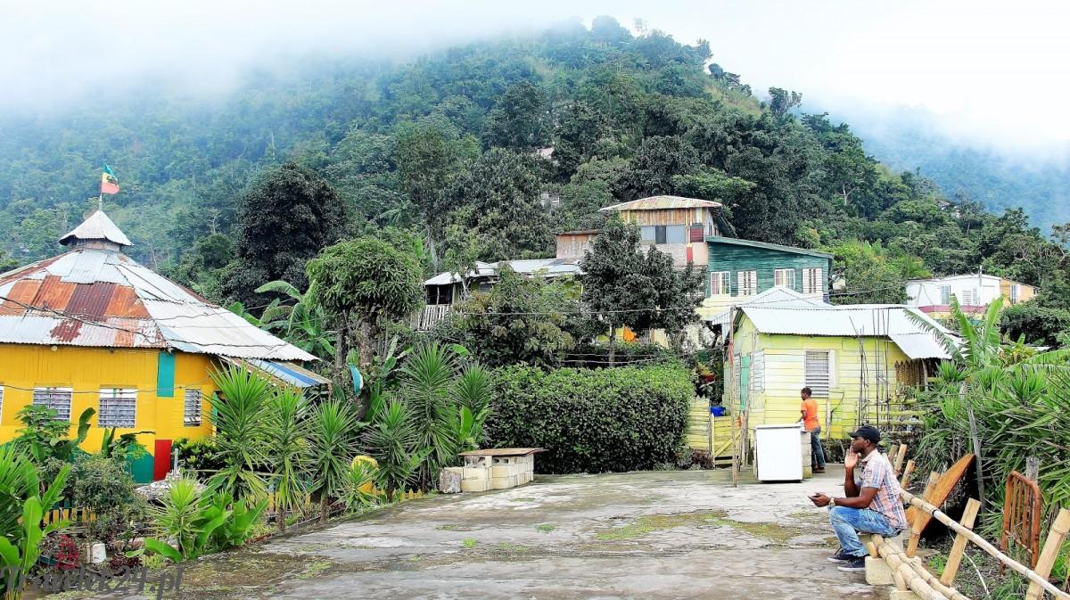 Zdjęcia: Góry Błekitne, Z wizytą w Rastacapie , JAMAJKA