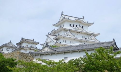 Zdjęcie JAMAJKA / Honsiu / Himeji / Najpiękniejszy zamek Japonii