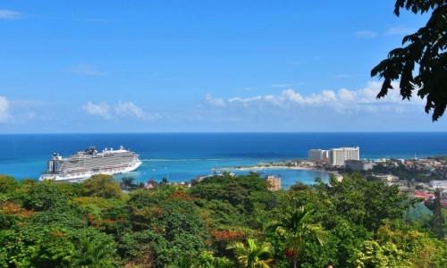 Zdjęcie JAMAJKA / północne wybrzeże / Ocho Rios / Widok na zatokę w Ocho Rios