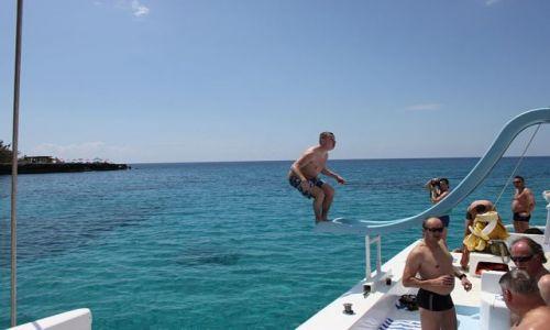 Zdjęcie JAMAJKA / - / Negril / jump!
