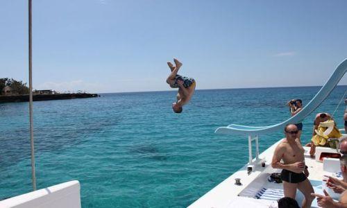 Zdjęcie JAMAJKA / - / Negril / jump !!!