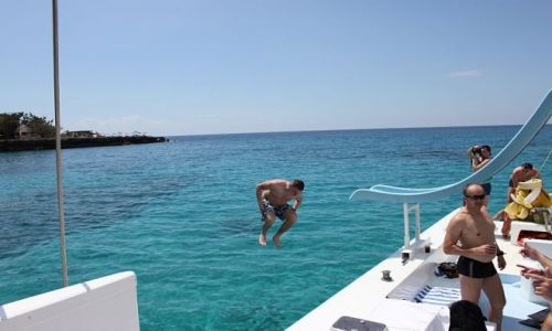 Zdjęcie JAMAJKA / - / Negril / jump !!!!