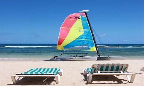 Zdjęcie JAMAJKA / rio bueno / plaża przed hotelem Breezes Rio Bueno / karaiby zapraszają