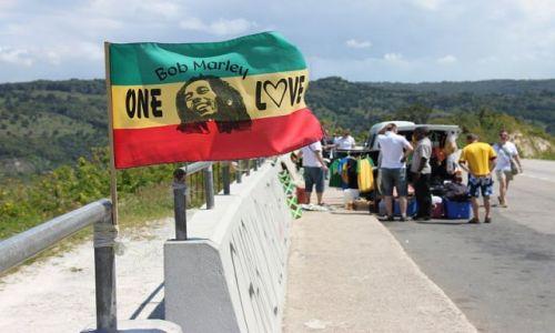 Zdjęcie JAMAJKA / - / most Rio Bueno / ONE LOVE