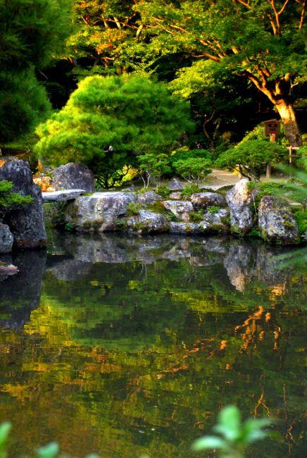 Zdjęcia: temple, Kioto , w lustrze , JAPONIA