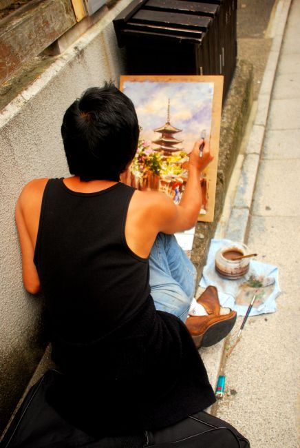 Zdjęcia: Dzielnica Gejsz, Kioto , utrwalacz , JAPONIA