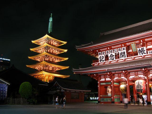 Zdjęcia: Asakusa, Tokyo, Senso-ji temple, JAPONIA