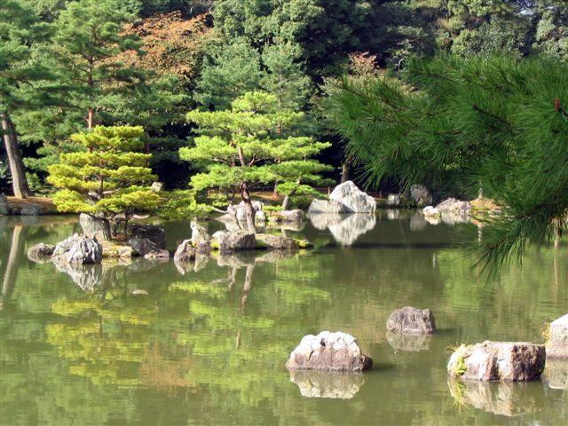 Zdjęcia: Kioto, Ogród Kinkaku-ji, JAPONIA