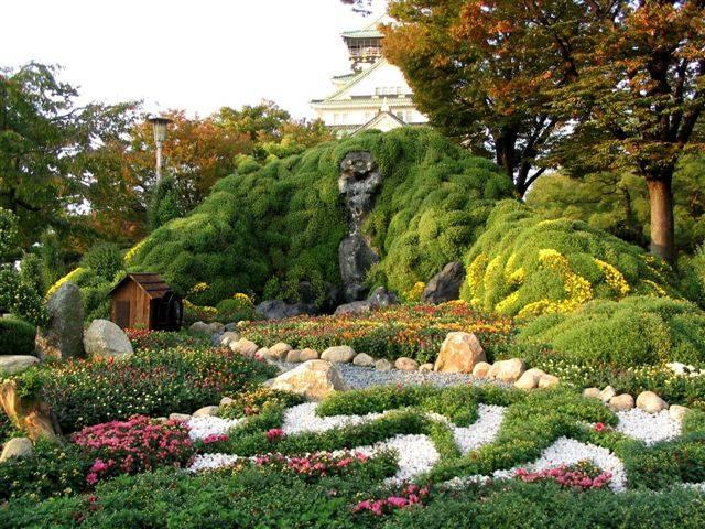 Zdjęcia: Osaka, Ogród Osaka-jo, JAPONIA