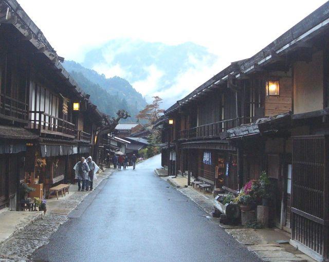Zdjęcia: Tsumago, Honshu, Strój wieczorowy wyjściowy, JAPONIA