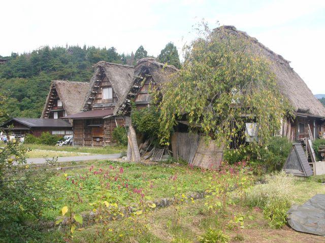 Zdjęcia: Shirakawago, Honshu, Japońskie strzechy I, JAPONIA