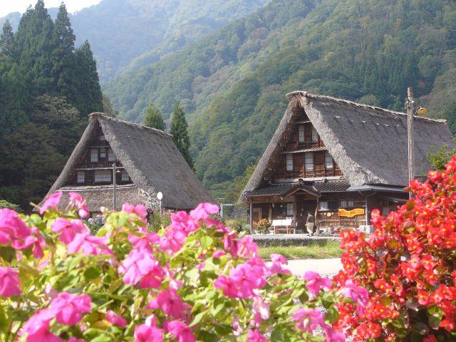 Zdjęcia: Gokayama, Honshu, Japońskie strzechy III, JAPONIA