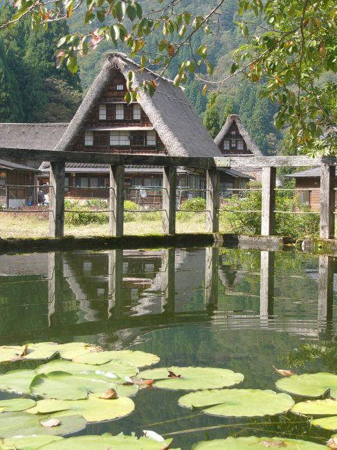 Zdjęcia: Gokayama, Honshu, Japońskie strzechy IV, JAPONIA