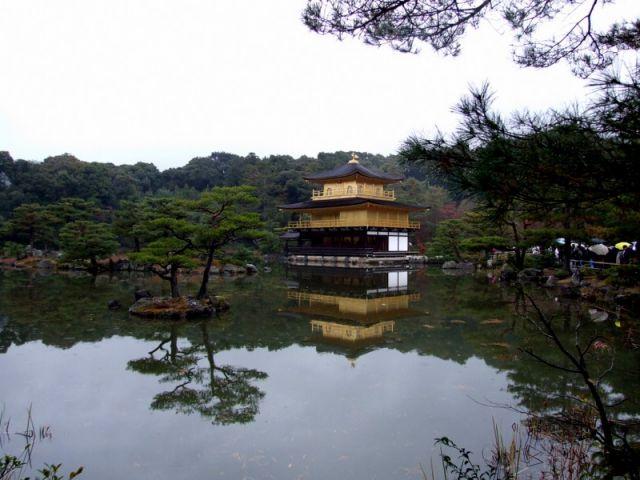 Zdjęcia: Złoty Pawilon, Kioto, Cudowna Harmonia, JAPONIA